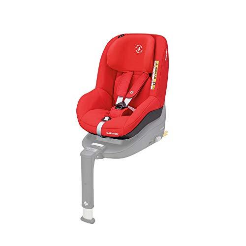 Maxi-Cosi Pearl Smart Kindersitz, Gruppe 1 (9-18 kg) ab 6 Monate - 4 Jahre, rückwärts und vorwärtsgerichtetes Fahren, für Isofix-Basis FamilyFix One i-Size, nomad red
