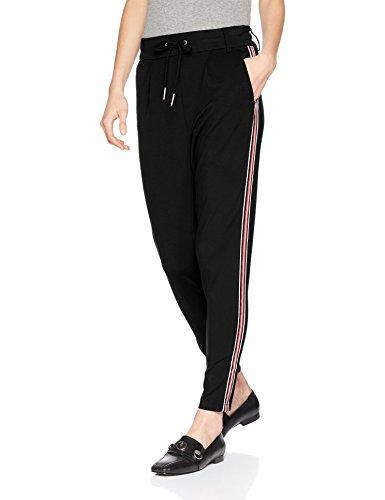 ONLY Damen Hose Onlpoptrash Easy Sport Pant Noos, Schwarz (Black), W38L30 (Herstellergröße: M)