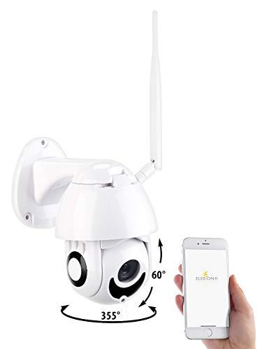 7links Outdoor Kamera: WLAN-IP-Full-HD-Kamera, Nachtsicht, App, Pan/Tilt, komp. zu Echo Show (Kamera Alexa)