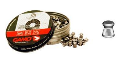 Pallini GAMO Match calibro 4,5 per carabina aria compressa