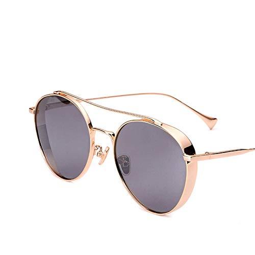 Sport-Sonnenbrillen, Vintage Sonnenbrillen, Metal Round Steampunk Sunglasses Men Women Fashion Glasses Designer Retro Frame Vintage Sunglasses High Quality UV400