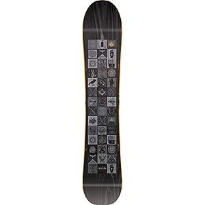 Nitro Snowboards Herren Magnum '19 All Mountain Freeride Freestyle Wide Snowboard für Große Füße Board