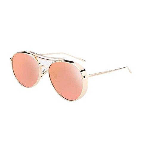 Black Temptation Strassenart und weiseart Katzenauge gespiegelte Metallrahmen Anti-UVA Anti-UVB Sonnenbrille
