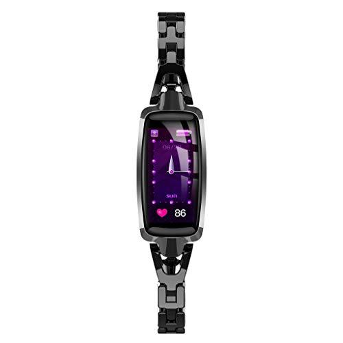 Dr66 Reloj Inteligente para Mujer Hombre Niños,Reloj Elegante para Mujer,Calorie Fitness Tracker Pulsera...