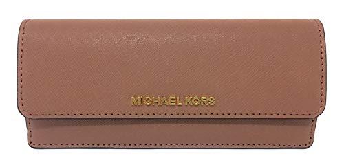 Michael Kors Jet Set Travel Flat Saffiano Leather Wallet