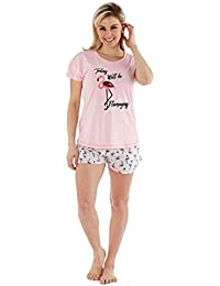 a66143691cd Fashion by Purdashian Ladies Novelty Cute Character Pyjama or Shortie  Nightwear Pjs Set