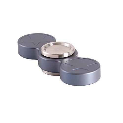 Preisvergleich Produktbild Amazmall EDC Hand Spinner Titanium Legierung Ti, perfekt für Entlastung Stress Angst