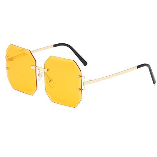 WZYMNTYJ Herbst Winter Platz Sonnenbrille Frauen Männer Rot Lila Schwarz Sonnenbrille Frauen Männlich Trimmen Farbton