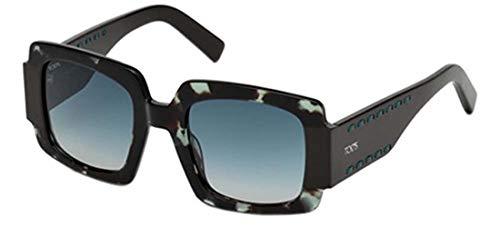 Tod's sonnenbrille to0213 occhiali da sole, blu (blau), 50.0 donna