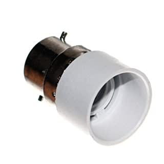 1 Adapter B22 Sockel auf E14 Fassung UK Zwischenstecker für Leuchtmittel & LED GB 230V Neu Otto-Harvest