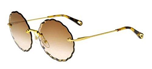 Chloé Sonnenbrillen ROSIE CE142S BROWN SHADED LIGHT GREY GOLD/BROWN Damenbrillen