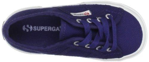 Superga 2750 Jcot Classic, Sneakers basses mixte enfant Bleu (Ultramarine)