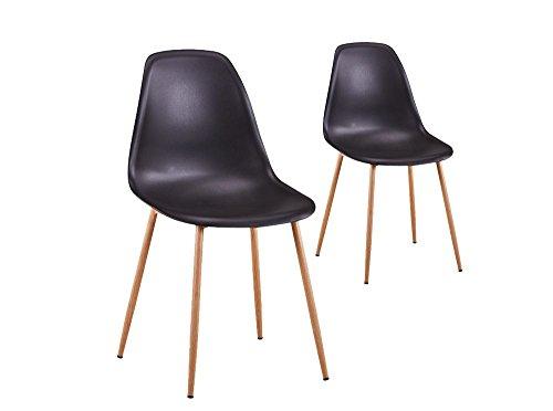 scandinaves Coque chaises Plastique UsineStreet Lot 2 EVA de 3Rjc5qS4LA