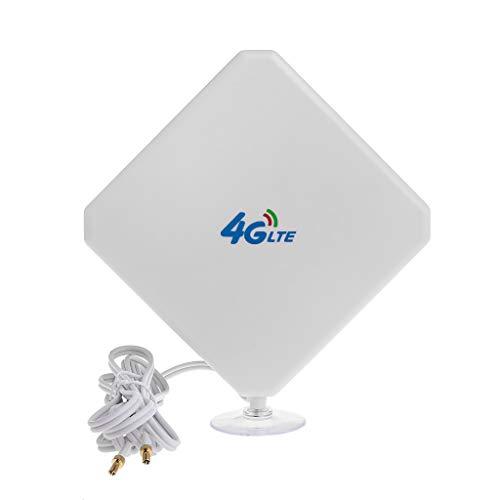 Weishai 4G LTE Antenne WiFi Signal Booster Verstärker Adapter TS9 Verbindungskabel 35dBi High Gain Netzwerk Empfang Handy Hotspot Outdoor Handy-signal-booster
