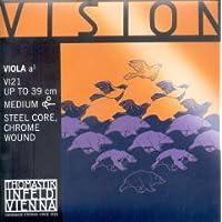 CUERDA VIOLA - Thomastik (Vision/VI21) (Acero/Entorchado Cromo) 1ª Medium Viola 4/4