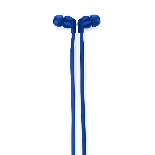 HP 1KF55AA in-Ear Headphone with Noise Isolation Earbuds (Blue)
