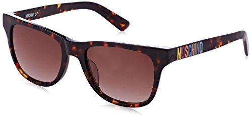 Moschino Damen MO780S-02SA-54 Sonnenbrille, Braun, 54