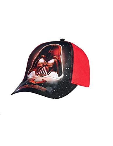 Star Wars - Gorro - niño negro/rojo 52 cm 3-6 años