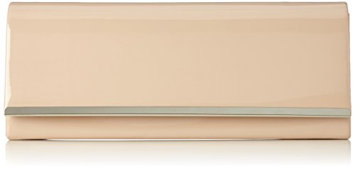 Girly Handbags , Damen Clutch Beige hautfarben