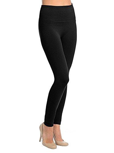 QRAFTINK Women's Soft Comfort Jeggings (Free Size, Black)