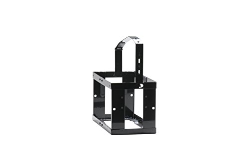 Preisvergleich Produktbild Kanister-Halterung für Metall-Kraftstoff-Kanister 10l, abschließbar, schwarz