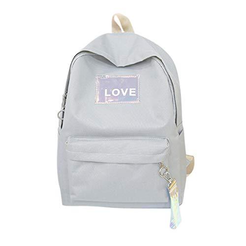 zaino scuola media superiore casual - beautyjourney zaini per scuola ragazza ragazzi tumblr medie superiore backpack - Tessuto unisex zaino borsa studente in pelle
