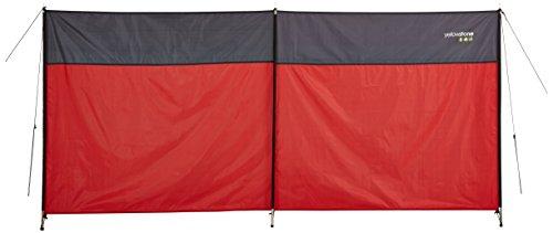 Yellowstone Weatherproof Outdoor Wind Block available in Multi - Colour (Gold/TNF Black) - Midi