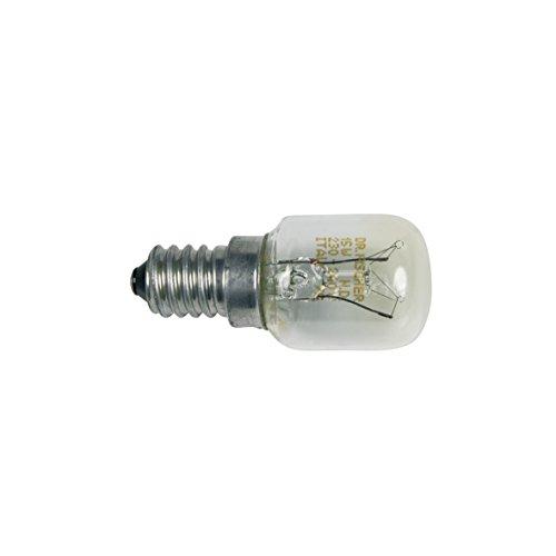 Bosch Siemens 602674 00602674 ORIGINAL Kühlschrankbirnchen Lampe Röhrenformlampe Glühbirne Glühlampe Gewindelampe Kühlgerätebirne E14 15W 230V Kühlschrank Gefrierschrank auch Neff Constructa Balay - 15w Glühlampe