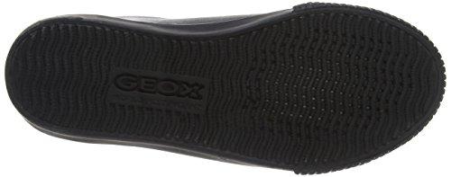 Geox Jungen Jr Kiwi Boy A Sneaker Schwarz (Black)