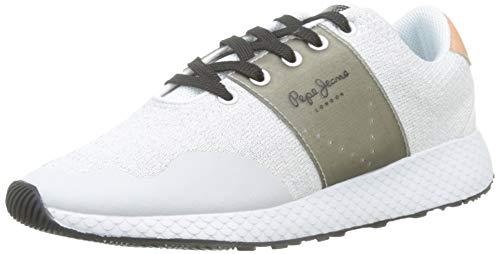 Pepe Jeans London Damen KOKO SAND19 Sneaker, Weiß (800white 800), 37 EU