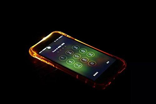 DBIT Arco Calcio dangolo Gasbag Protettiva Cover Sottile TPU Softshell Custodia per Apple iPhone 6 Case iPhone 6s Telefono Borse Rose-Oro Bianco