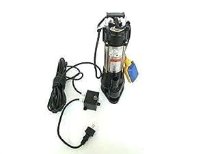 Fäkalienpumpe Schmutzwasserpumpe V370C, Leistung 370 Watt, Spannung 230V/50Hz mit Schneidwerk Fördermenge: 7800l/h + Überspannungsschutz + Trockenlaufschutz.