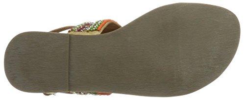 BULLBOXER Damen Sandal Beige (Natural)