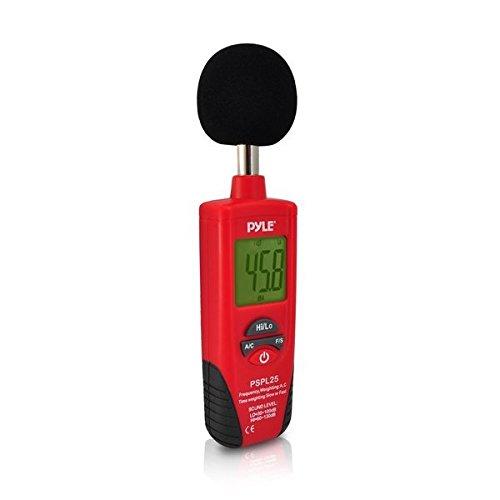 Pyle Schallpegelmesser mit A und C Frequenzbewertung, PSPL25