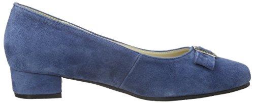 Andrea Conti Damen 3002723 Pumps Blau (jeans 274)