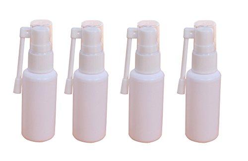 630ml Portable nachfüllbar Kunststoff Nasenspray Flasche mit 360Grad drehbar Zerstäuber Make-up Wasser Behälter für Gebrauch Zuhause und auf Reisen weiß