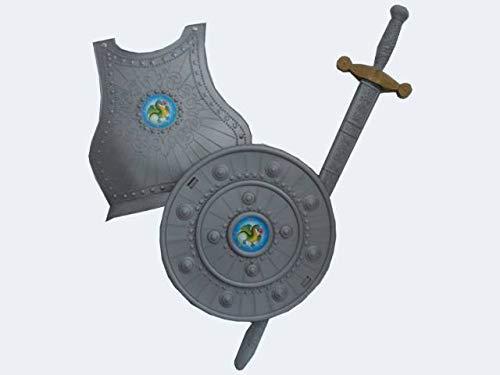 Kostüm Ninja Fat - Unbekannt Giplam Rüstung-Set, Spielzeug, 76x 30cm, 3-teilig, Einheitsgröße