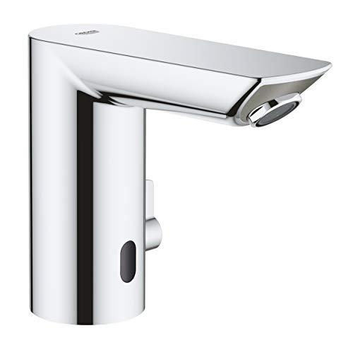 GROHE 36451000 Mitigeur lavabo Infrarouge avec Limiteur de Température, Bau Cosmopolitan E, Chromé (Import Allemagne)