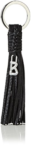 Bogner Damen Keyfob Schlüsselanhänger, Schwarz (Black 001), 1x14x1 cm