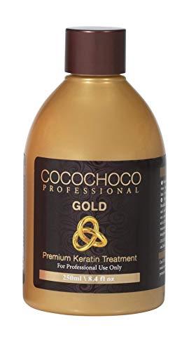 Cocochoco Professional Gold Premium Keratin Hair Treatment, 250 ml