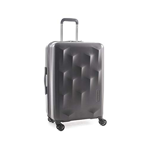 Hedgren Edge Carve Charcoal 4-Rollen Trolley M 67cm