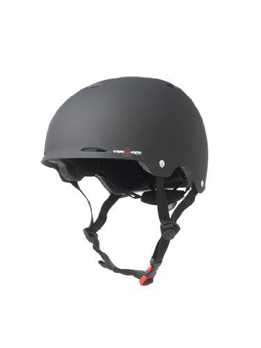 Triple 8 Kopfschutz Gotham Helmet, Schwarz, S/M, 1351000035