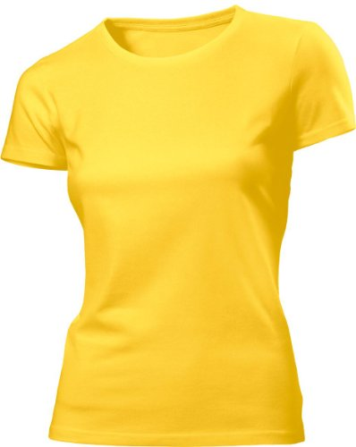 HanesDamen T-Shirt Gelb - Sunflower Yellow