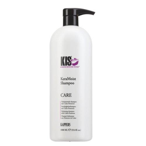 KeraMoist Shampoo 1000 ml KIS Keratin gibt extra Feuchtigkeit für dauergewelltes, dunkler gefärbtes und trockenes Haar
