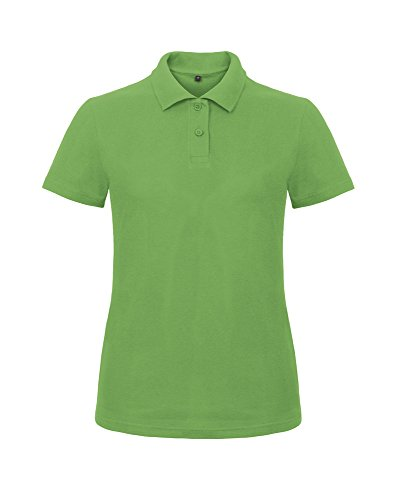 B&C Collection ID.001 polo /women Real Green