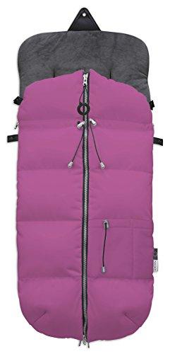 Fuli&co Plonge - Saco universal para silla de paseo, 93.5 x 45 x 5 cm, color rosa