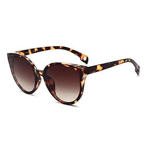 ZHAO YELONG Sonnenbrille Square Frame Fashion Trend Damen Anti-UV-Schutzbrille (Color : B)