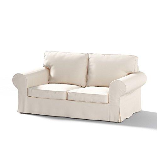 Ektorp Sofa (Dekoria Fire Retarding IKEA IKEA EKTORP 2er Sofa Bett Cover (für Modell auf Verkauf in IKEA 2004–2012)–Off Weiß)