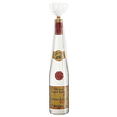 Original Höllberg Sauerkirsch Brand Réserve 42{6425789654413bfb6a8e97de5971bbcc9a5101227cb063a3b2526c23fc3d6518} vol. 0.7L | Premium Obstbrand mit edlem Kirsch Aroma | Edelbrand aus Familienbrennerei