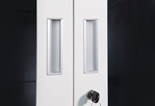 Armadio Ufficio Bianco : Schedario ufa grigio scuro bianco ufficio mobili ufficio armadio